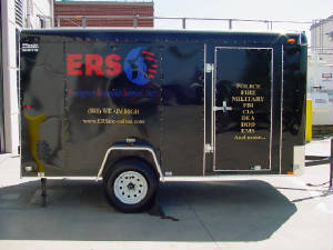 ERS Service Trailer - To Serve Your On-Site Needs